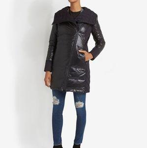 CANADA GOOSE BLACK BRANTA CASSIDY COAT BLACK XS